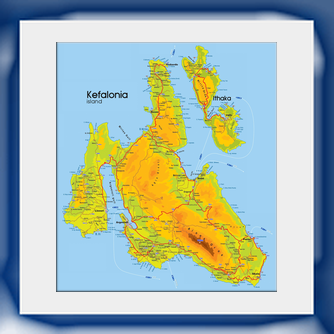 cephalonia map